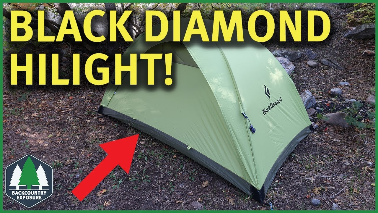 Black Diamond HiLight Tent Review & Black Diamond HiLight Tent Review - YouTube