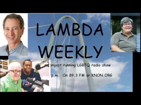 Knon 89.3, Lambda Weekly 2016.10.30 with Leslie Jordan , Lerone, and David Taffet