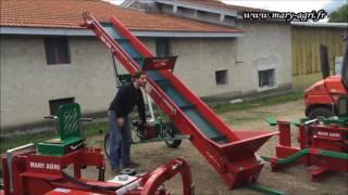 Tapis monte bois MARY AGRI avec moteur HONDA