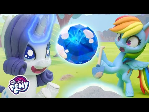 My Little Pony Stop Motion | 'Gem Of A Problem' 💎 Stop Motion Short Ep. 16