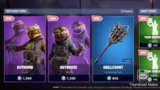 Fortnite New skins (USE CODE MINEMADMAX20) Fortnite