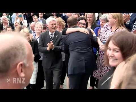 John Key leaves Parliament
