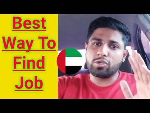 Easy Way to Find jobs in UAE || How to find jobs in Dubai 2018