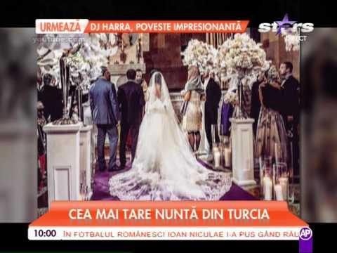 Cea mai tare nuntă din Turcia! Totul a fost la superlativ, invitaţii s-au distrat pe cinste la pet