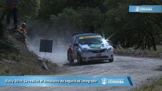 Rally 2019: Se realizó el simulacro de seguridad integrado