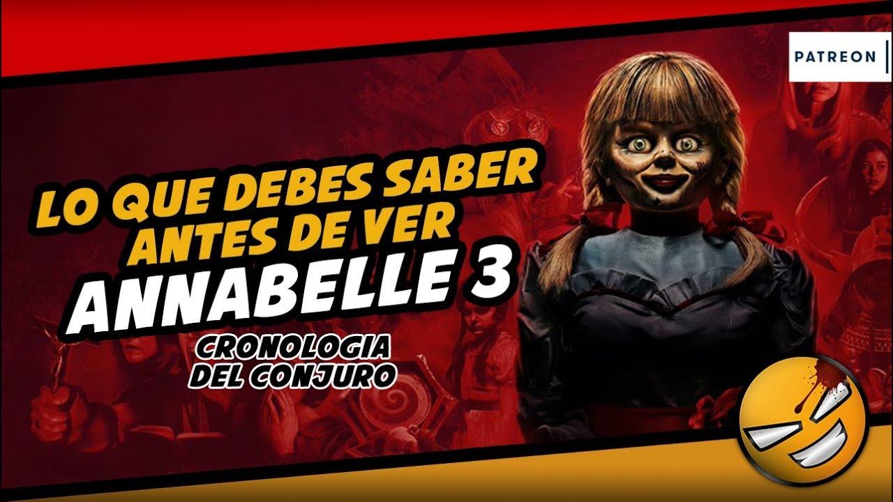 Lo que debes saber antes de ver Annabelle 3 (Cronología) ????@LordMefe