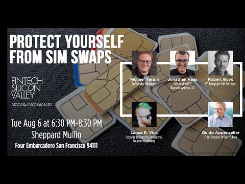 Protect Yourself from Sim Swaps LIVESTREAM