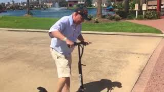Qiewa Q1-hummer Electric Scooter Review
