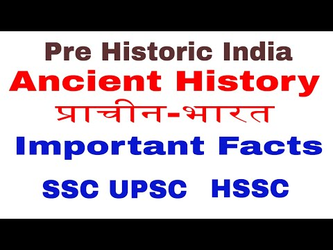 Pre historic India ! Indian History ! Ancient History ! for SSC Railway Upsc exams.