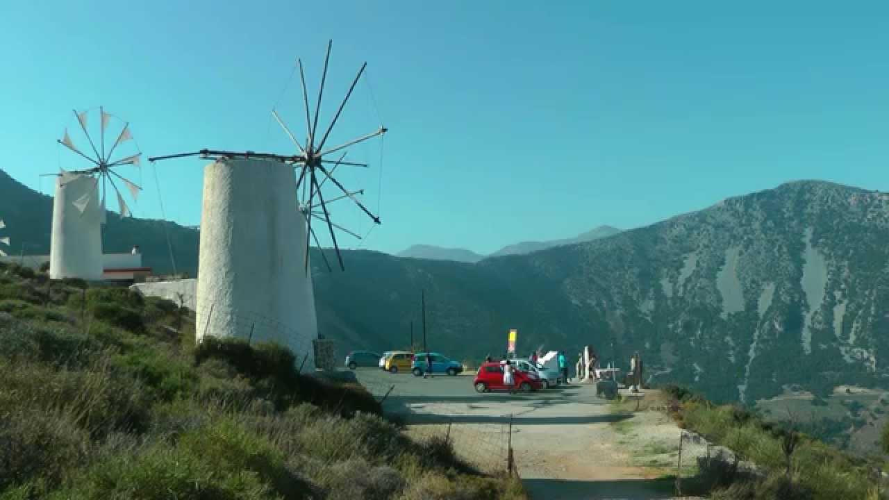 Greece Crete  Kreta  Lassithi Plateau  Dikti Mountains  Hd