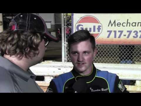 Williams Grove Speedway ARDC Midget Victory Lane 06-10-16
