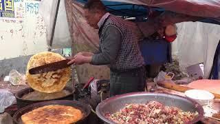 这是河南豫北地区最彪悍的一种美食,一大把一大把的肉往里放