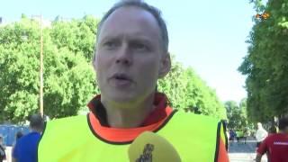 Han är mest poppis på hela Stockholm Marathon