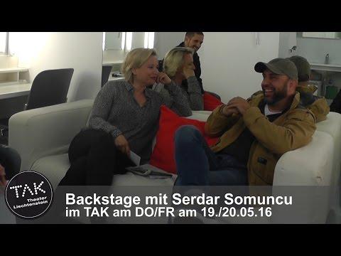 TAK-Backstage mit Serdar Somuncu über die Schweiz, Gedichte und Hassprediger 2016