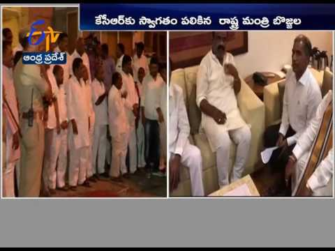 Telangana CM K.Chandrasekhar Rao Reached Tirumala |  Offer Rs.5 cr Worth Jewellery For God
