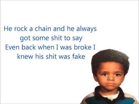 J Cole Chaining Day Lyrics