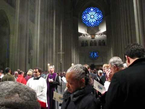 Rededicated Cathedral of St. John The Divine, NYC