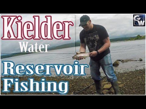 Trout Fishing UK Kielder Water  Northumberland.