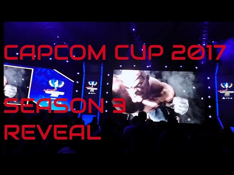 Crowd Reactions to Sakura and Street Fighter V Season 3 at Capcom Cup 2017