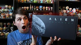 Limited Edition Alien Covenant Box Unboxing (Sneak Peek)