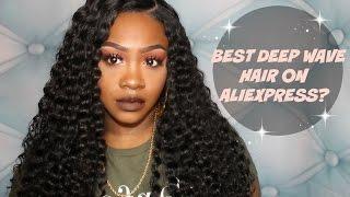 BEST DEEP WAVE HAIR ON ALIEXPRESS? | ALI GRACE HAIR