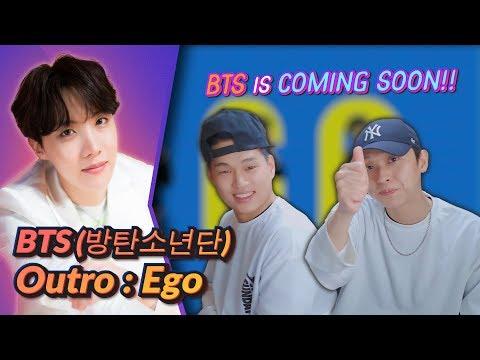 K-pop Artist Reaction] BTS (방탄소년단) MAP OF THE SOUL : 7 'Outro : Ego' Comeback Trailer