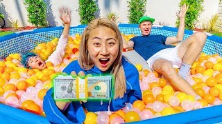 LAST TO LEAVE THE BALL PIT WINS $10,000