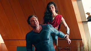Брюс и Диана обсуждают воскрешение Супермена / Лига справедливости (2017)