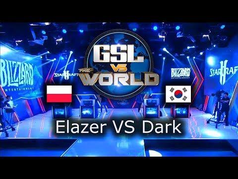 Elazer VS Dark - TEAM Serral VS TEAM Dark - GSL vs the World 2019 - polski komentarz