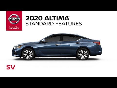 2020 Nissan Altima SV Walkaround & Review