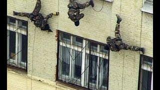 Военно штурмовой Альпинизм - учимся штурмовать здания через крышу. Работа спецназа на высоте