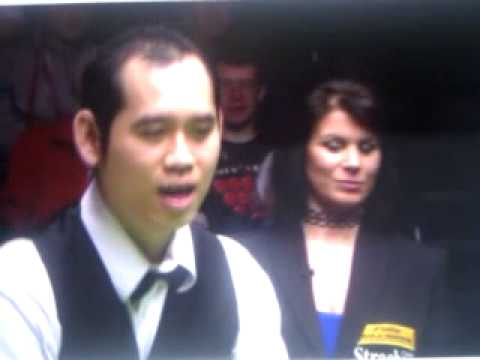 Poomjaeng penalised frame 2013 world snooker championship , misses three times in a row