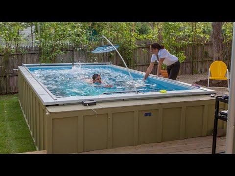 Kim Brackin - Elite Swim Training with Elite Endless Pool