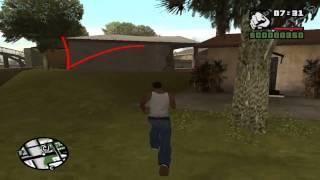 GTA San andreas - где найти 3 вида оружия в начале игры(3 вида оружия в начале игры., 2014-03-28T11:01:45.000Z)