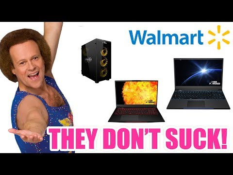 Walmart Now Has Their Own Gaming PC Brand...And It Doesn't Suck!