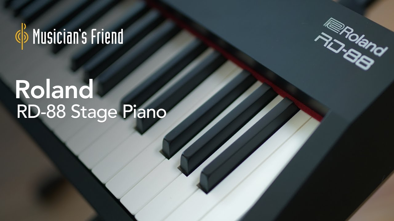 Roland RD-88 Stage Piano - All Playing, No Talking with Ruslan Sirota