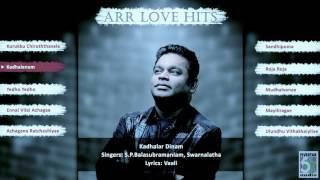 top 10 love hit songs tamil movie a r rahman