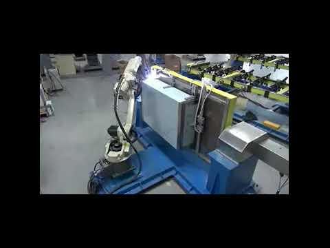 Automatic Industrial Robotic TIG Welding Robot for Stainless Steel Box