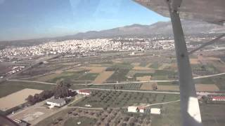 IBIS GS 700 ~ Takeoff from the Megara Airport...