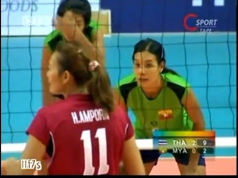 [Thailand-Myanmar] Women's Volleyball SEA GAMES 2011