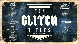 DJ Krypton's Title Pack Vol. 2. 10 Glitch Titles