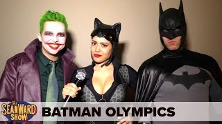 BATMAN OLYMPICS! with The Joker & Catwoman