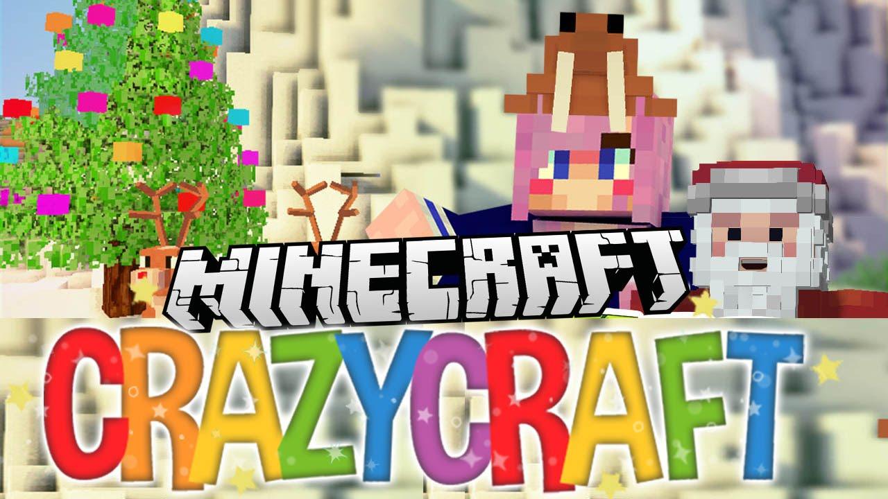 Christmas ep 23 minecraft crazy craft 3 0 youtube for Crazy craft 3 0 server