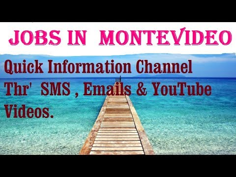 Jobs in  MONTEVIDEO     for freshers & graduates. industries, companies.  URUGUAY