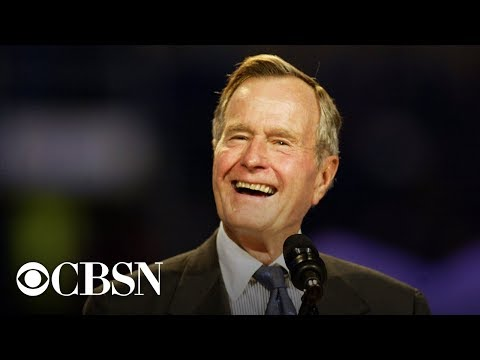 Watch Live: President George H. W. Bush arrives in Washington DC for state funeral service