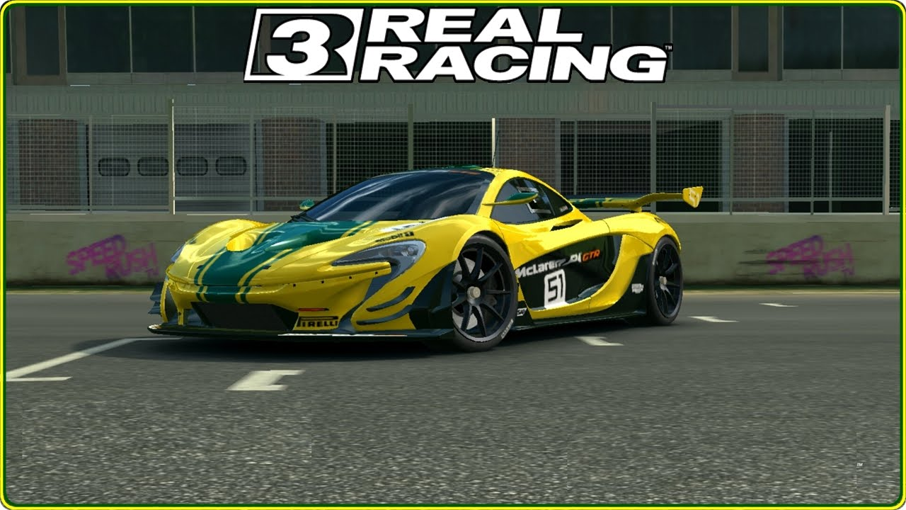 real racing 3: mclaren p1 gtr, gameplay (hd) - youtube
