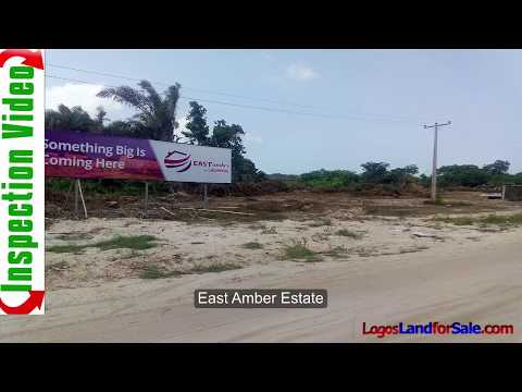 Land For Sale in East Amber Estate Ibeju Lekki Lagos Nigeria