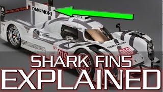 Shark Fins (on Race Cars) Explained - LMP1/F1 2017 Technology