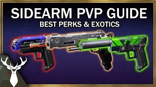 Sidearm PvP Guide - Best Perks, Exotics, and Archetypes ( Godrolls )
