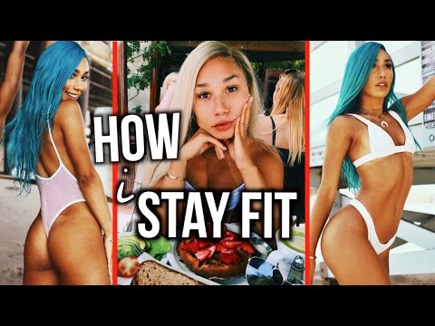 How I Stay Fit + Build A Nice Butt! ✿ | MyLifeAsEva